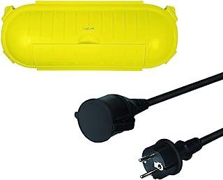 LogiLink LPS239 - 户外套装,电源线延长+电缆保护盒,IP44保护盒,电缆长度: 3米