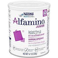 alfamino 恩敏舒兒童氨基酸奶粉,無味,14.1盎司(400克) 罐