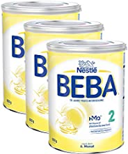 Nestlé 雀巢 BEBA 婴儿奶粉 2段(适用于6月以上婴儿),3罐装(3 x 800g)