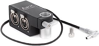 木制相机 A-Box 适用于 ARRI Alexa 迷你相机,5 针 LEMO 输入到双 XLR 输入适配器