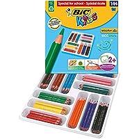 BIC 比克儿童彩色铅笔 Ecolutions Evolution系列 三角型 1 x 144 Stück 多种颜色