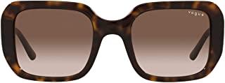Vogue Eyewear 女式 Vo5369s 矩形太阳镜