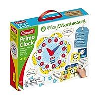 Quercetti - Primo Clock - Play Montessori 系列教育玩具,适合年龄 4 岁以上儿童
