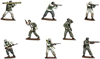 Muse Figure 1/72 *二次世界大战 德国军 降下猎兵 冬季装备 8个 40个 塑料模型 ORM72121