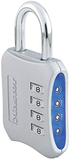 Master Lock Set-Your-Own-Combination 2 英寸挂锁 混色 1包 653D