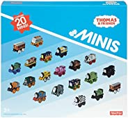 Fisher-Price Thomas & Friends 迷你玩具,20只装,超级车站+