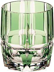 KAGAMI 冰酒玻璃杯 竹之膳 绿色 250cc/约250毫升 江户切子 T117-1908CGR