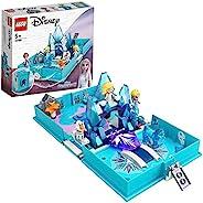 LEGO 乐高 43189 Disney 冰雪奇缘 2 Elsa 和 the Nokk 故事书冒险便携式玩具套装,儿童旅行玩具