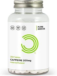 BULK POWDERS Koffeintabletten, Pre Workout Booster, 200 mg, 250 Tabletten
