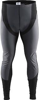 Craft 男士 绿标贴身层 运动内衣 X绿2.0(防风版) 紧身长裤 适合高强度运动 温度-5°C到10°C 跑步、滑雪、多运动 1904507-9999