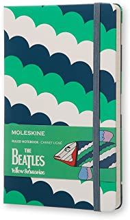 Moleskine 披头士乐队横格大号笔记本(白色)