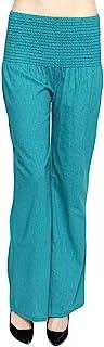 ToBeInStyle 女式直筒宽松腰裤