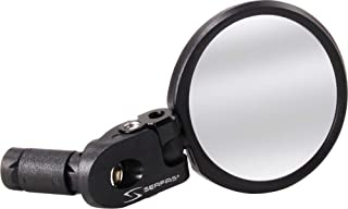 SERFAS(冲浪式) 自行车后视镜 MR-3 62mm大径玻璃镜片 左右通用设计