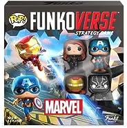 FunKo Funkoverse:Marvel 漫威 100 4 件装游戏