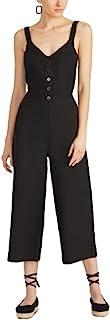 Rachel Roy 女式黑色细肩带 V 领短款派对连衣裤尺码 2