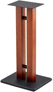 Monolith 扬声器支架 - 60.96 厘米,樱桃色(每个),50 磅容量,可调节尖头,结构坚固,非常适合家庭影院扬声器