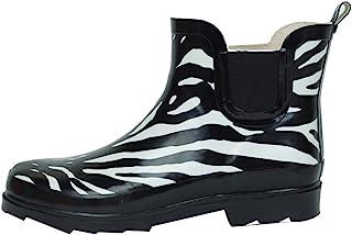 Sunville 女式及踝高(6 英寸筒高)雨靴