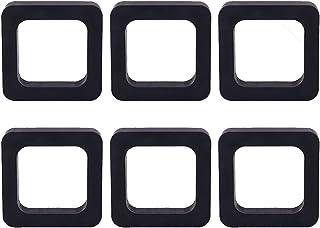 YXCS 6 件装挂接接收器消音器垫 2 英寸(约 5.2 厘米)适用于可调节球座,挂接消音器消音器消音垫适合拖车挂接接收器 — 消除噪音,并提供接收器和拖车挂接之间的缓冲
