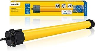 Schellenberg 20620 百叶窗电机 Maxi 标准 20 Nm *大 8.5 m² 百叶窗 60 mm轴管电机,全套包括墙壁轴承
