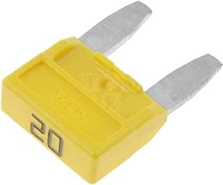 Adn-auto 3663693115436 Minival 迷你保险丝,多色,11.9毫米,10件套