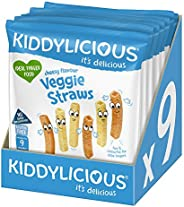 Kiddylicious 美味芝士薯条 12 g,9包