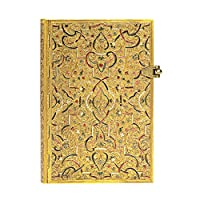 paperblanks 愛爾蘭 Gold Inlay系列橫線筆記本小號 金雕