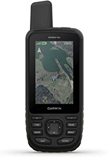Garmin GPSMAP 66s 坚固耐用的多卫星手持式传感器,3英寸(约7.62厘米)彩色显示屏