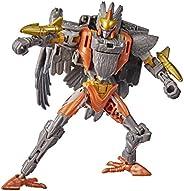 Transformers 变形金刚 Toys Generations塞伯坦战争:Kingdom Deluxe WFC-K14 Airazor 可动公仔 - 8 岁及以上儿童,5.5 英寸/约13.97厘米
