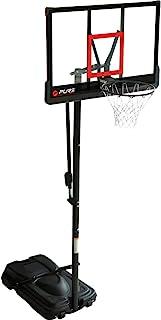 Pure 2 Improve 中性成人便携式篮球架,黑色,均码