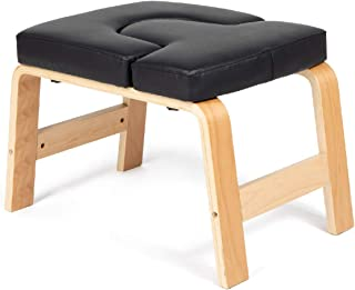 Milliard 瑜伽头架带手册,倒立椅训练,健身房锻炼凳