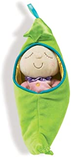 Manhattan Toy Snuggle Pod Hunny Bunny First 婴儿玩偶,带舒适*袋 Sweat Pea Size 豌豆