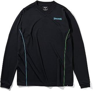 SPALDING 斯伯丁 排球长袖T恤 眼镜 SMT211790