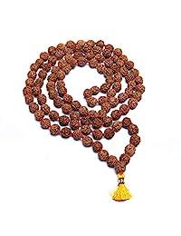 Wonder Care 正品 金刚菩提 Mala-5face-Geniune 喜马拉雅金刚菩提种子宗教装饰念珠日本念珠项链 - 尼泊尔进口