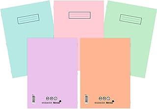 Silvine 笔记本各种淡色(10 件装) A4