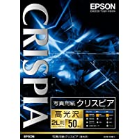 EPSON 摄影用纸CRISPIA <高亮度> 50张 2L判
