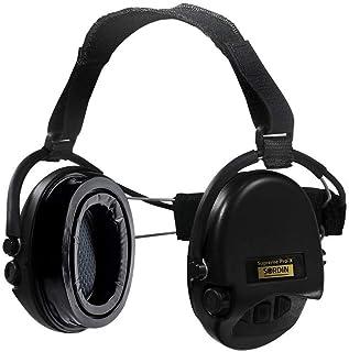 Sordin Supreme PRO X 颈带*耳罩 - 带凝胶密封卫生套件 - 凝胶耳罩 SNR:25dB - 黑色 - 76302-X-02-G