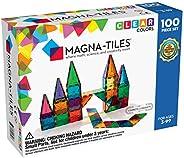 Magna Tiles 100片透明彩色砖片玩具套装