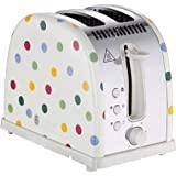 Russell Hobbs 领豪 21295 Emma Bridgewater 烤面包机,波尔卡圆点 2 片烤面包机,1…