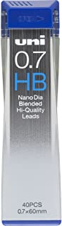 Uni NanoDia Mechanical Pencil 0.7mm Lead, HB (U07202NDHB)
