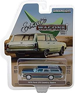 Greenlight 29910-E Estate Wagons 系列 1 - 1979 Ford LTD Country Squire - 午夜蓝 1:64 比例