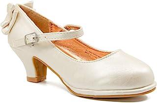 八十八岁幼童,小女孩和大女孩玛丽珍童高跟鞋适合派对、婚礼 - Em