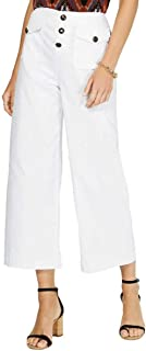 INC International Concepts 女式九分阔腿实用前口袋长裤
