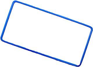 AWESOME 车牌框架硅胶套 蓝色AS-NPC-05