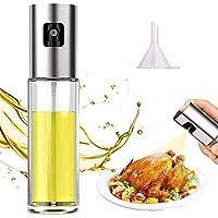 油噴霧器,烹飪用油噴霧,噴霧瓶橄欖油噴霧器,用于烹飪,燒烤,沙拉,烘焙,燒烤,燒烤