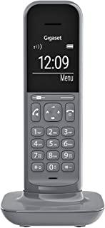 Gigaset CL390HX IP 电话与Fritzbox 兼容 1 CL390HX Design-Telefon zur Router Verbindung, Satellite Grey