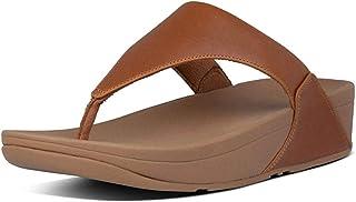 Fitflop 女士 Lulu 皮革 Toepost 夹趾凉鞋
