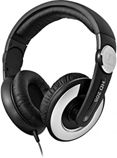 Sennheiser 森海塞尔 HD205-II 头戴式耳机 监听级 银黑色
