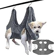 SZZYXD 狗/猫*吊床助手带挂钩,多功能宠物猫浴巾狗吊床用于沐浴、*和修剪* (M)