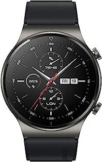 Huawei 华为 WATCH GT 2 Pro 智能手表,1.39英寸AMOLED高清触摸屏,2周电池寿命,GPS和GLONASS,SpO2、100多种锻炼模式,蓝牙通话,心率监测,夜黑色
