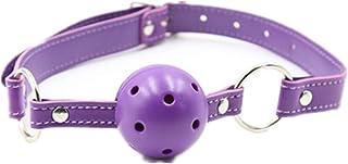紫色嘴塞橡胶透气女士瑜伽道具